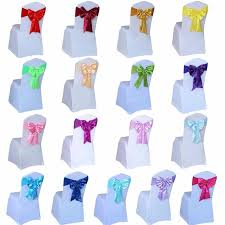 blue chair sashes pc bow blue chair sashes free tie for chair decoration for