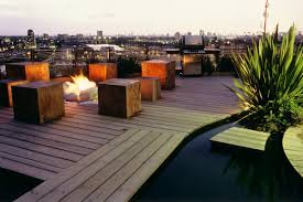 penthouse roof garden in canary wharf design by andy sturgeon