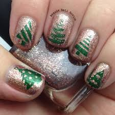 12 days of christmas nail art christmas trees newsie nail novice