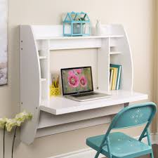 Cool Desks For Small Spaces No Room For A Blown Office Wall Mounted Desks Are The Way To