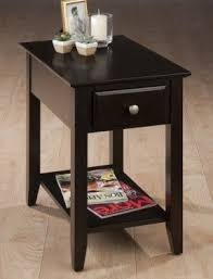 Skinny End Table Narrow End Table With Drawers Foter