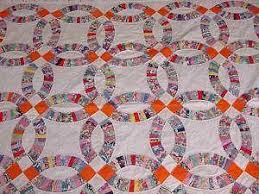 wedding ring quilt wedding ring quilt ebay