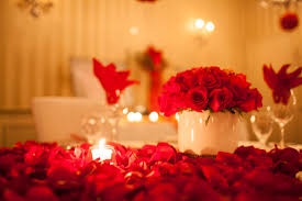 Romantic Bedroom Ideas With Rose Petals Romantic Decorating Ideas The Top Home Design