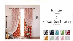 best home fashion mix and match curtains tulle lace u0026 moroccan