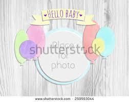 vector kids page hello world photo stock vector 267359318