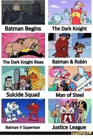 Batman Funny Meme - ike wwwfb batman begins the dark knight the dark knight rises batman
