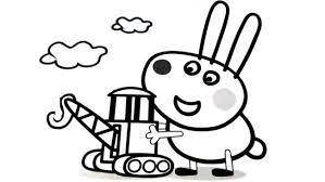 peppa pig coloring pages color nice coloring pages kids