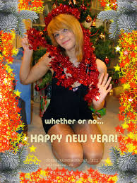 russian new year cards new year s jokes card with russian girl the content
