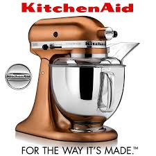 Kitchenaid Artisan Mixer by Kitchenaid Artisan Copper Stand Mixer Copper Kitchen Appliances