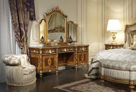 classic bedroom in walnut louis xvi style