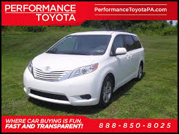 toyota sienna in sinking spring pa performance toyota
