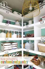 pantry makeover the handmade home