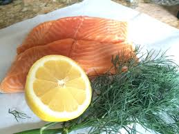 Salmon With Dill Mustard Sauce by Crispy Skin Salmon With Dill Mustard Sauce Living Remixed
