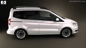 Ford Corier Ford Tourneo Courier 2013 By 3d Model Store Humster3d Com Youtube