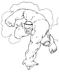 hulk coloring free printable coloring pages