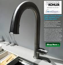 touch kitchen faucet reviews 28 images shop delta trinsic