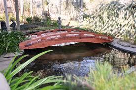 Backyard Bridge Japanese Landscaping Bridges Garden Bridges