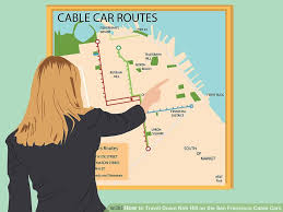 cable car san francisco map how to travel nob hill on the san francisco cable cars