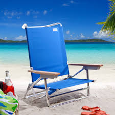 Folding Low Beach Chair Rio Blue Deluxe Sand Beach Chair Hayneedle