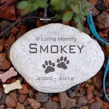 In Loving Memory Dog Tags Personalized Pet Memorial Gifts Pet Memorial Stones Giftsforyounow
