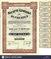 rue du commerce si e social historic certificate stock photos historic certificate