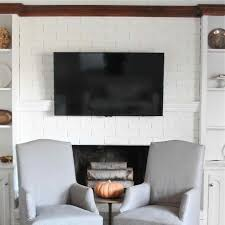 interior stone surround surrounds interior brick fireplace mantels
