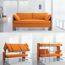 coolest space saving furniture ideas sofa bunk bed