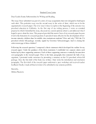 student cover letter examples cover letter writing for high students