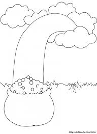 rainbow pot of gold coloring pages 53 best coloring pages images on pinterest coloring sheets