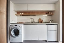 laundry in kitchen ideas laundry room kitchen ideas interior design ideas small space gray