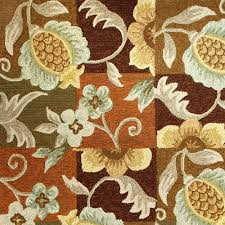 Tropical Outdoor Rugs Tropical Pineapple And Flowers Indoor Outdoor Rug 26 In X 60 In