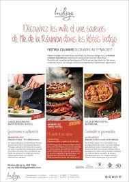 hote pour cuisine indigo hotels festival culinaire réunionnais tél 403 7206