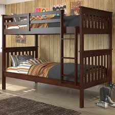 Donco Kids Donco Twin Bunk Bed  Reviews Wayfair - Donco bunk beds