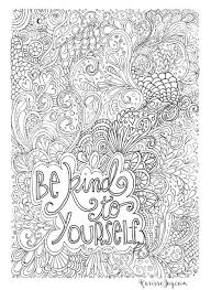 coloring page quotes 12 inspiring quote coloring pages for adults free printables