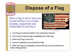Garrison Flag Size Stars And Stripes Jrotc State When And Where The First U201cstars And