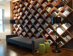bookshelfs extravagant home office creative bookshelves design