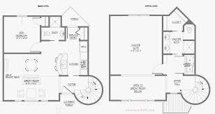 two house plan blueprint design architecture design