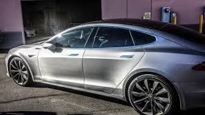 maserati tesla tesla model s brushed steel u2014 incognito wraps