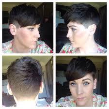 before and after fade haircuts on women resultado de imagen para short undercut girl hair cortes i love