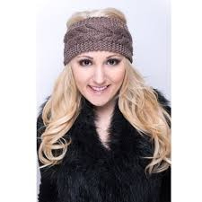 knit headband knitted headbands thick cozy cable knit headbands for women