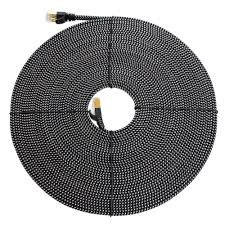 tera grand cat 7 10 50 ft gigabit ethernet braided cable for