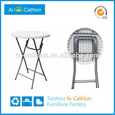 Folding Bar Table Outdoor Round Plastic Outdoor Table Tops Round Plastic Outdoor Table Tops
