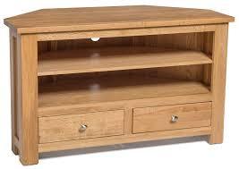 light wood corner tv stand waverly oak 2 drawer corner tv stand unit hallowood