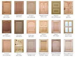 Kitchen Cabinet Door Types Different Types Of Cabinet Doors Home Building Pinterest