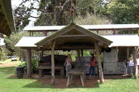 covered outdoor kitchen designs rustic outdoor kitchens room design decor creative under rustic