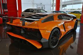 Lamborghini Aventador Sv Top Speed - incredible orange lamborghini aventador sv for sale in dubai