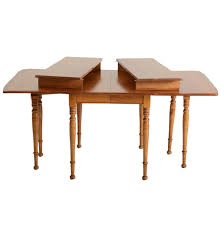 Maple Drop Leaf Table Cushman Colonial Creations Maple Drop Leaf Dining Table Ebth