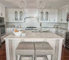 Backsplash Ideas With White Cabinets by Best 25 Mother Of Pearl Backsplash Ideas On Pinterest Pearl