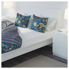 Mattress Toppers Ikea Ireland Dublin Rosenrips Quilt Cover And 4 Pillowcases Blue Patterned 200x200