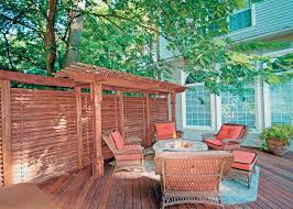 design ideas for outdoor privacy walls screen and curtains diy